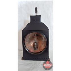 Steam Engine Light complete with Lamp & Chimney