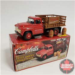 Toy Truck : Campbell's 1957 Chevy Stake Truck