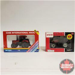 Toy Tractors (2): CASE IH 956XL & Steyer 6135  (1/32 Scale)