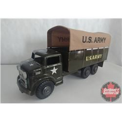 """Marx Army Truck with Canvas Top (18""""x8-1/2"""")"""