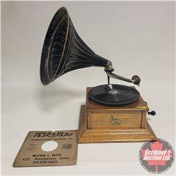 Columbia Gramophone - Works Great c/w 1 Record