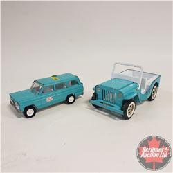 Tonka Jeep Toys (2)