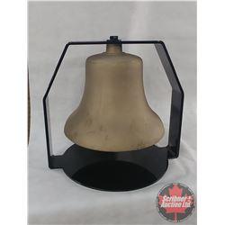 Brass Locomotive Steam Engine Bell