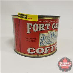 "Hudson's Bay Company Fort Garry Coffee Tin (4""H)"
