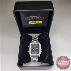 Gentleman's Watch : Seiko Cal.V072 Duo-Display Watch