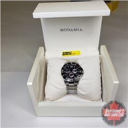 Gentleman's Watch : Rodania Gents Silver Watch