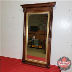 """Wall Mirror - Framed Crown Moulding (50""""H x 28""""W)"""