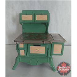 "1929 Vindex Cast Iron Salesman Sample Stove (14"" x 14"" x 8"")"
