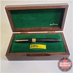High End Pen: Sheaffer 585 Point Pen 14k Gold/Black