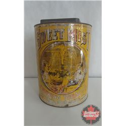 """Large Sweet Mist Chewing Tobacco Tin (11"""" x 8"""")"""