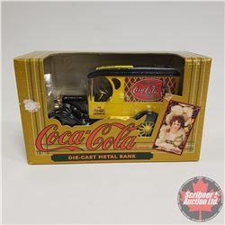 Coca Cola Die-Cast Metal Truck Bank