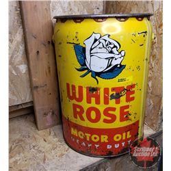 White Rose 5 Gallon Pail