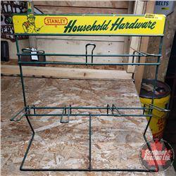 "Stanley Household Hardware Store Display Rack (16""H x 15""W)"