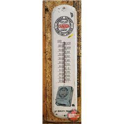 "Canada Cement Company Shop Thermometer (36""H x 8""W)"