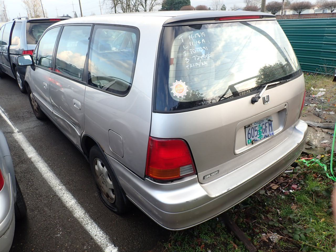 1995 Honda Odyssey - Speeds Auto Auctions