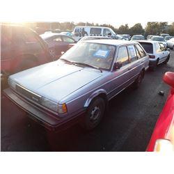 1987 Nissan Sentra