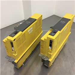 (2) Fanuc A06B-6066-H006 Servo Amplifier