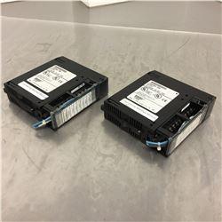 (2) GE Fanuc IC693MDL730E Output Module