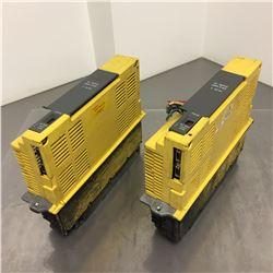(2) Fanuc A06B-6066-H244 Servo Amplifier