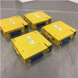 (4) Fanuc A03B-0807/0819-C105 & A03B-0807/0819-C156 32 Point Output Modules