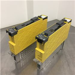 (2) Fanuc A06B-6114-H106 Servo Amplifier Unit