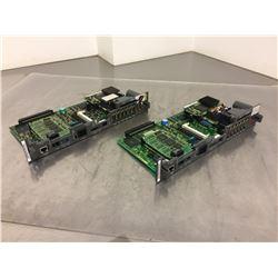 (2) Fanuc A16B-3200-0421 Control Board