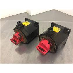 (2) Fanuc A06B-0106-B1758 AC Servo Motors