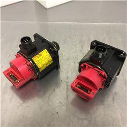 (2) Fanuc A06B-0101-B178 AC Servo Motor