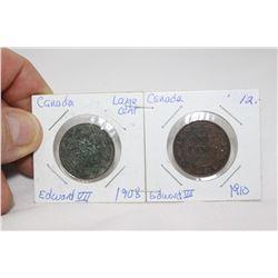 Cda One Cent Coins (2)