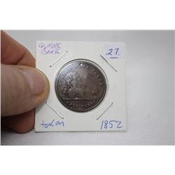 Quebec Bank Half Penny Token