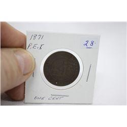 Prince Edward Island One Cent Coin (1)