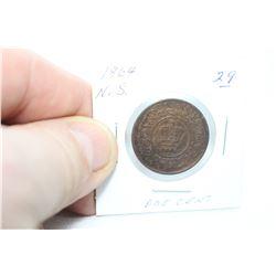 Nova Scotia One Cent Coin (1)