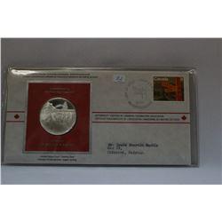 Cdn Postmasters' Assoc. Medal & Orig. Stamped Envelope - NO GST