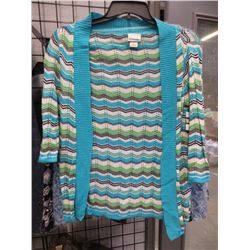 NEW KIM ROGERS P/SMALL WOMENS SWEATER