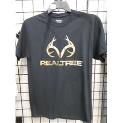 NEW  MEDIUM REELTREE TEE SHIRT BLACK