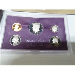 1985 MINT PROOF SET