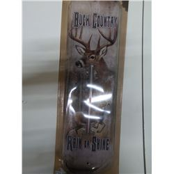 NEW BUCK COUNTRY THERMOMETER
