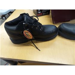 NEW LUGZ SZ 9 BLACK SHOES /ANKLE BOOTS MEN'S