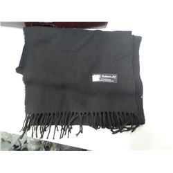 NEW Cashmere Scarf black