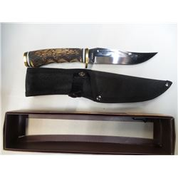 NEW Stag Type handle Knife