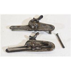 J Manton & Company Hammer & Lock Plates