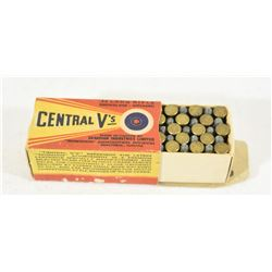 Vintage CIL Central V's 22LR Full Box