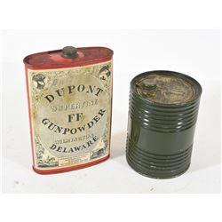Vintage Tins Dupont Propellant