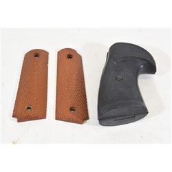 1911 Wood Grips & Pachmayr S&W K Frame Grips