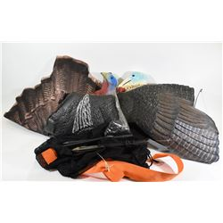 Turkey Decoys in Carry Bag