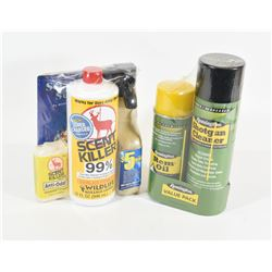 New Scent Killer & Remington Cleaners