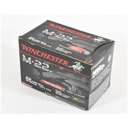 1000 Rounds Winchester 22 LR 40 grn 1255FPS