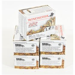 1110 Rounds Winchester 22 LR 1280 FPS