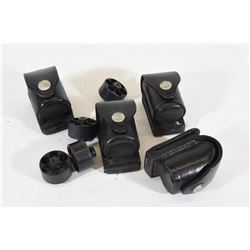 Four Leather Speed Loader Holsters & Loaders
