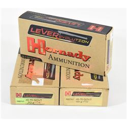 60 Rounds Hornady 45-70 Gov't 325grn FTX